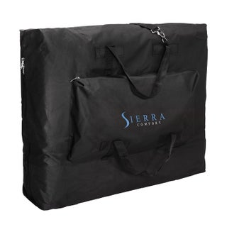 Sierra Comfort Deluxe Portable Massage Table Charcoal