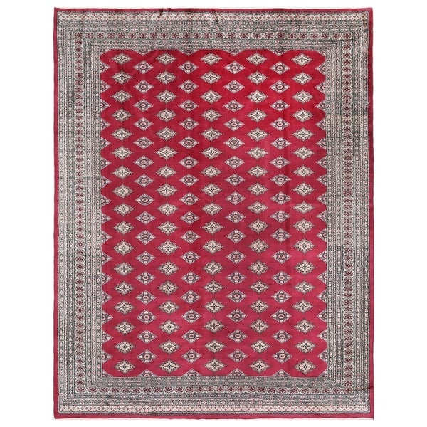 Persian Bokhara Hand Knotted Wool Area Rug: Shop Handmade Herat Oriental Pakistani Hand-knotted