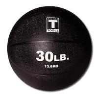 Body Solid Tools BSTMB30 30lb Medicine Ball - Black