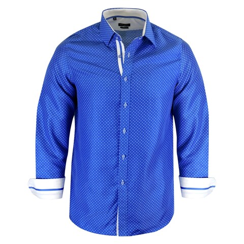 Rosso Milano Italy Modern-Fit Dress Shirt