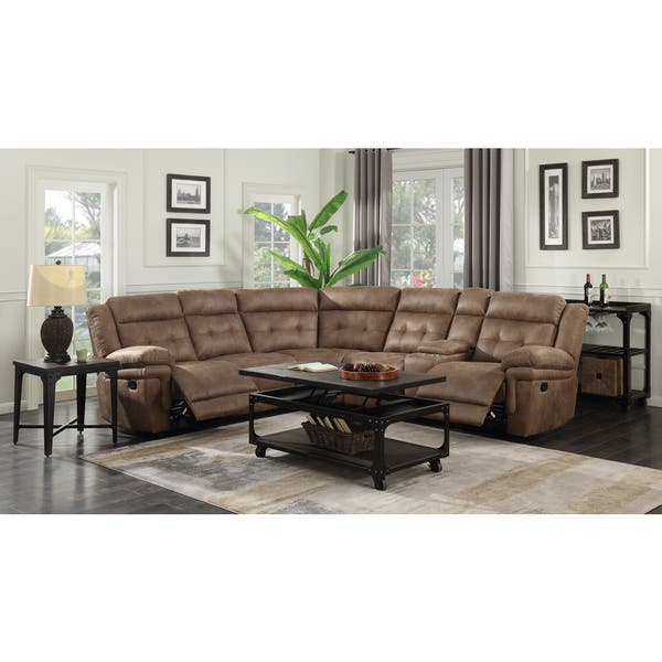 Groovy Shop Ainsley 3Pc Reclining Sectional By Greyson Living On Pabps2019 Chair Design Images Pabps2019Com