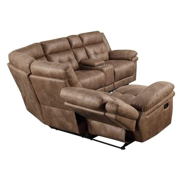 Strange Shop Ainsley 3Pc Reclining Sectional By Greyson Living On Pabps2019 Chair Design Images Pabps2019Com