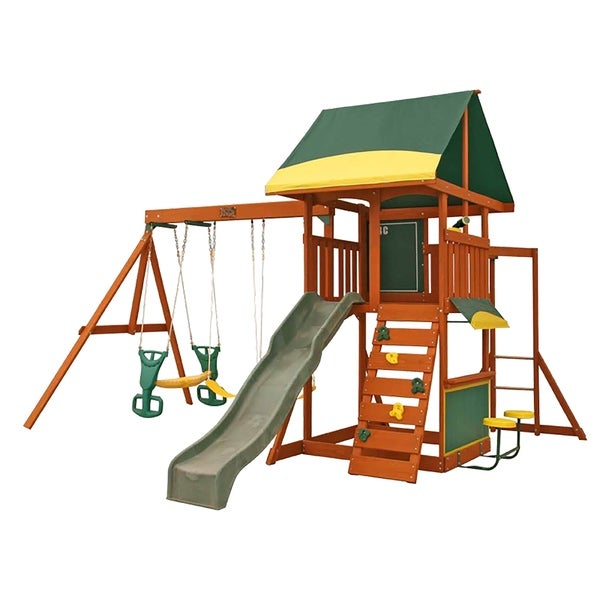 Shop Kidkraft Brookridge Wooden Playset Free Shipping Today