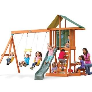KidKraft Springfield II Wooden Playset Swing Set