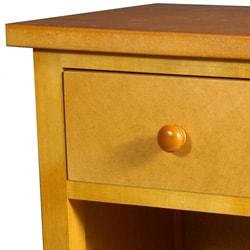 Handmade Shoji End Table with Shelves (China) - Thumbnail 1