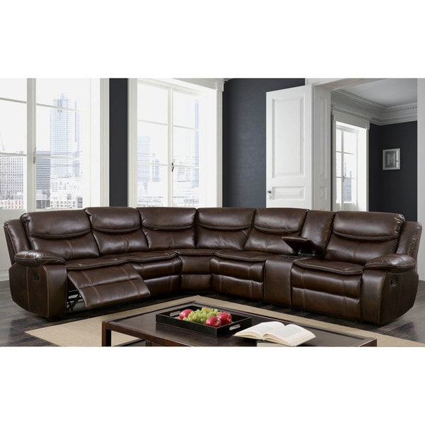Shop Furniture Of America Sory Transitional Brown