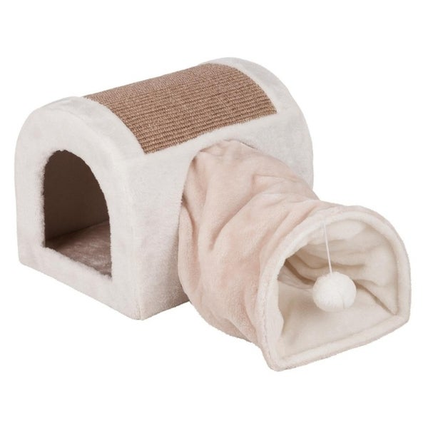 Ladina Cuddly Cave With Tunnel by Trixie Pet Products