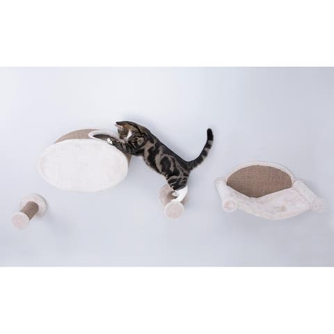 Wall Mount Cat Playground and Condo