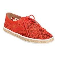 Women's Aerosoles Fundraiser Sneaker Coral Combo Fabric