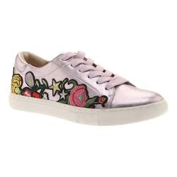 Women's Kenneth Cole New York Kam Sneaker Lavender Embroidered Leather