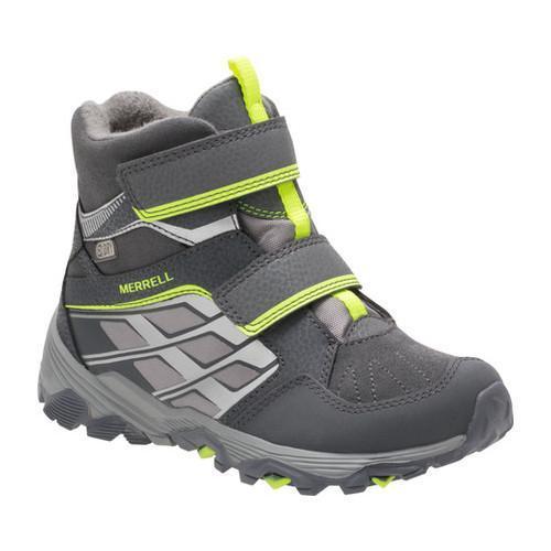 merrell moab fst mid waterproof boots - kids'