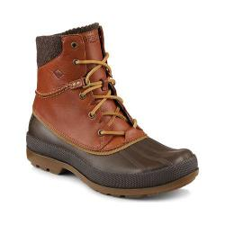 Men's Sperry Top-Sider Cold Bay Duck Boot with Vibram Arctic Grip Tan Waterproof Leather