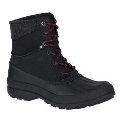 Men's Sperry Top-Sider Cold Bay Sport Duck Boot with Vibram Arctic Grip Black Leather