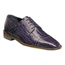 Men's Stacy Adams Raimondo Oxford Plum/Black Leather