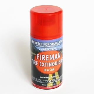 Fireman in a Can - Mini Fire Extinguisher for Home, Kitchen, Automobile, RV
