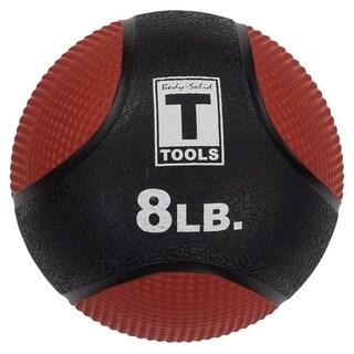 Body Solid Tools BSTMB8 8lb Medicine Ball - Red