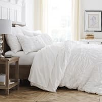 WestPoint Home Style Luxe White Comforter Set