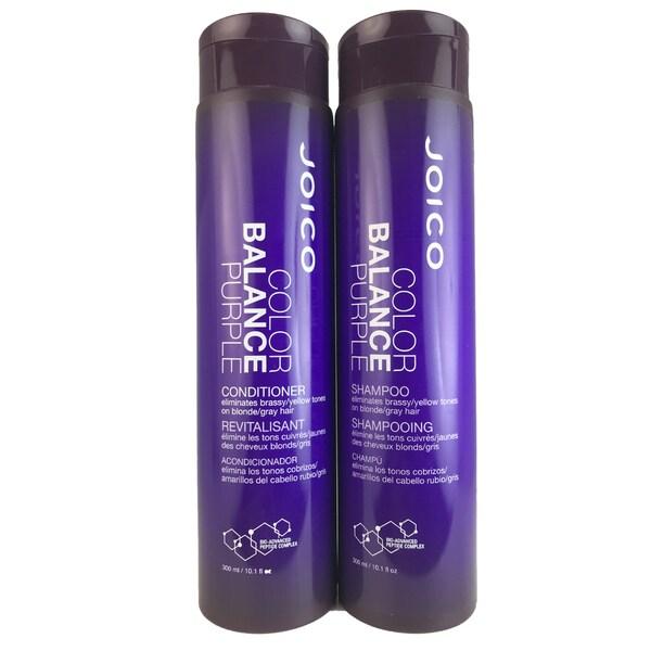 Joico Color Balance Purple 10 1-ounce Shampoo & Conditioner Duo