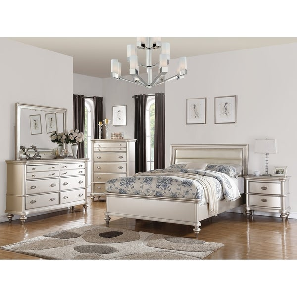 shop savina 5-piece bedroom set with chest - free shipping