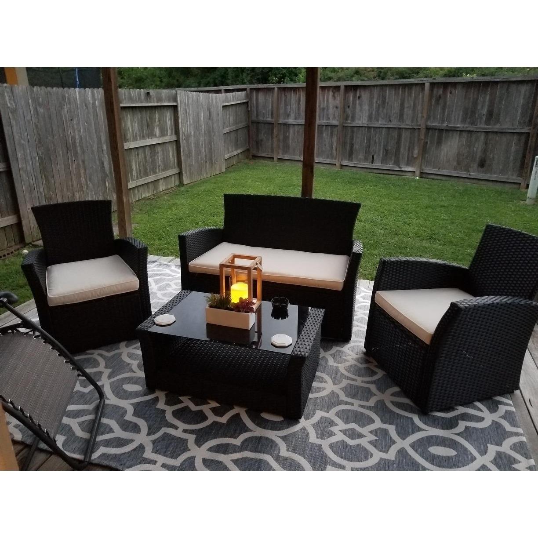 4 Piece Outdoor Patio Furniture Sets