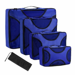 5Pcs Set Premium Nylon Packing Cubes Multi-Purpose Packing Cube - N/A