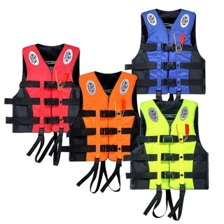 Standard Portable Waterproof Oxford Clothes Life Jacket (4 options available)