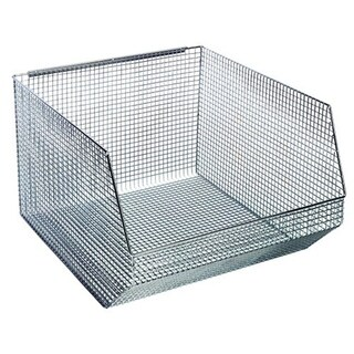 Quantum QMB570C Wire Mesh Stack and Hang Bins - 5 Pack