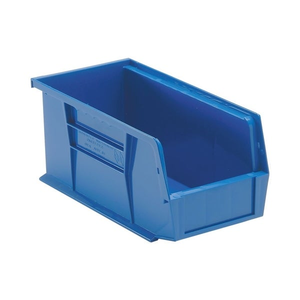"""Quantum Blue Ultra Stack and Hang Bin 10-7/8""""Lx 5-1/2""""Wx 5""""H - 12 Pack"""