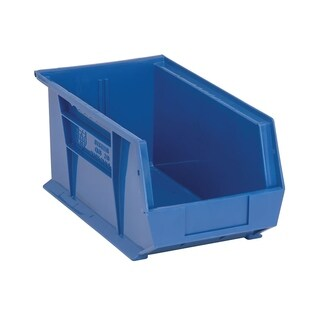 "Quantum Blue Ultra Stack and Hang Bin 14-3/4"" x 8-1/4"" x 7"" - 12 Pack"