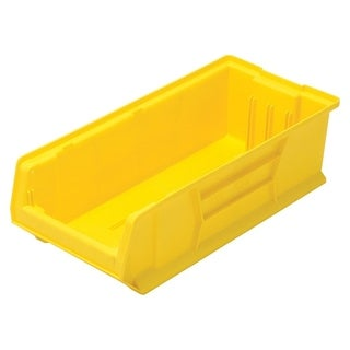 "Quantum Yellow Hulk 24"" Plastic Container 23-7/8"" X 11"" X 7"" - 4 Pack"
