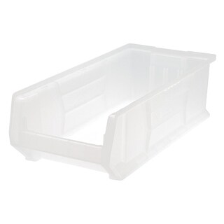 """Quantum Clear View Hulk 24"""" Container 23-7/8"""" X 11"""" X 7"""" - 4 Pack"""