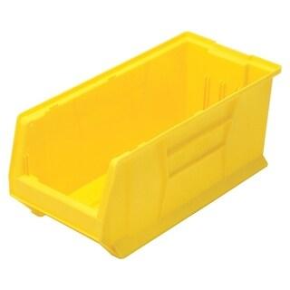 """Quantum Yellow Hulk 24"""" Plastic Container 23-7/8"""" X 11"""" X 10"""" - 4 Pack"""