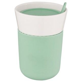 Leo Porcelain Travel Mug 11.16oz, Green