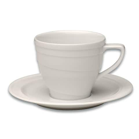 Essentials Eclipse Coffee Cup & Saucer, .19 Qt