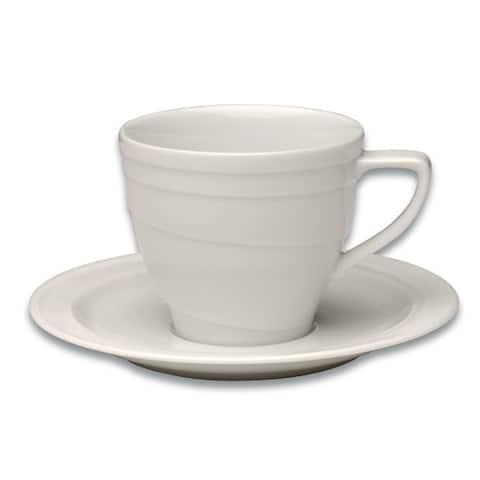 Essentials Eclipse Coffee Cup & Saucer, .19 Qt