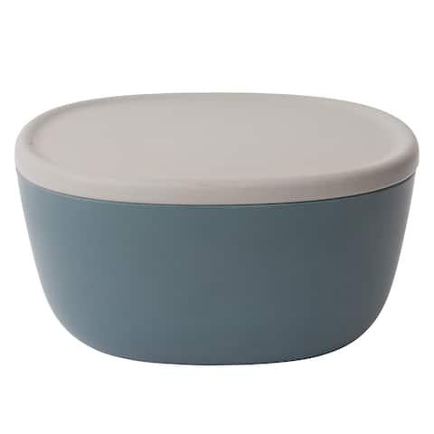 Leo Medium Covered Bowl, Blue 3.2qt