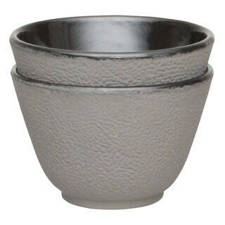 Studio Cast Iron Tea Cup Gray(2x)