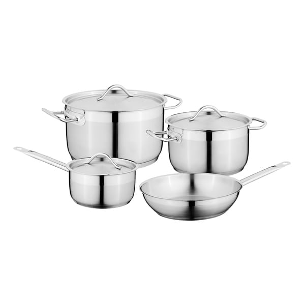 Hotel 18/10 SS 7pc Cookware Set. Opens flyout.