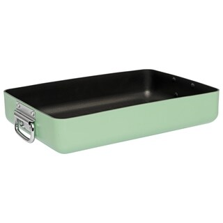 Essentials Eclipse Non-Stick Roasting Pan, Green