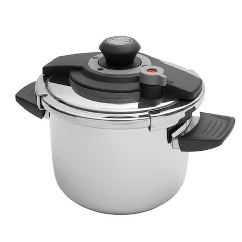 Vita 18/10 SS Pressure Cooker, 6.3qt