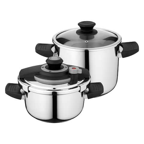 Vita 18/10 SS Pressure Cooker, 7.4qt
