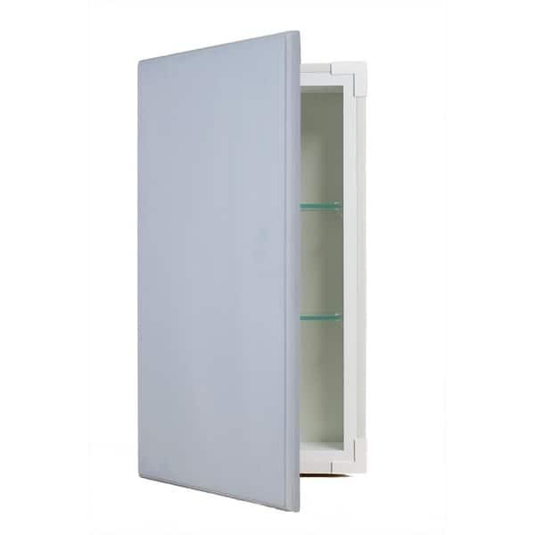 Rockford Primed Recessed Framless Wall Cabinet 3 5 In