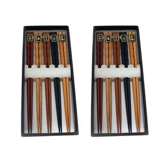Wooden Chopsticks, 10 pair