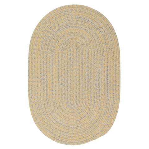 Colonial Mills Cameron Tweed Sunrise Yellow Area Rug (12' x 15')