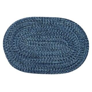 Cameron Tweed Pacific Blue Area Rug - 10' x 13'