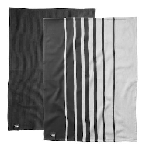 "Gem 27.5"" Cotton Kitchen Towel, Set of 2"