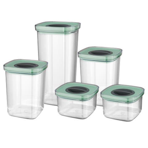 Leo Smart Seal Food Container Set (5x), Green