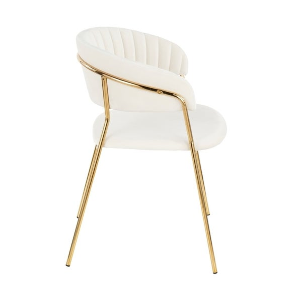 Tania Contemporary Glam Chair (Set of 2)