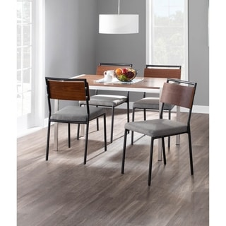 Link to Copper Grove Ahrensburg Dining Chairs with Wood Accents (Set of 2) - N/A Similar Items in Dining Room & Bar Furniture