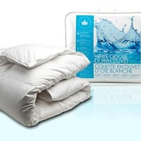 Canadian Down & Feather Company White Goose Down Comforter (Summer Weight)